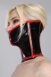 Preview: Latex Halskorsett - Long Neckcorset Latexkorsett