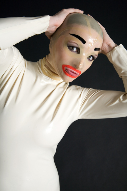 Latexmaske - Frau - Female Maske Transparent