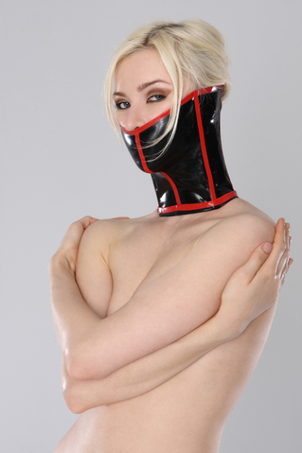 Latex Halskorsett - Long Neckcorset Latexkorsett